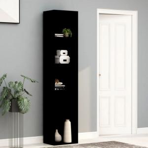 Biblioteca, negru, 40 x 30 x 189 cm, PAL - V800955V