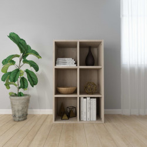 Biblioteca/Servanta, stejar Sonoma, 66 x 30 x 97,8 cm, PAL - V800345V