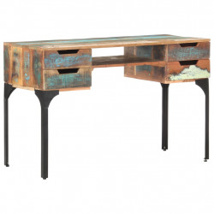 Birou, 118 x 48 x 75 cm, lemn masiv reciclat - V320665V