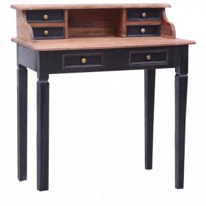Birou de scris cu sertare, 90x50x101 cm, lemn masiv reciclat - V283910V