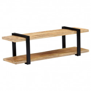 Comoda TV, 130 x 40 x 40 cm, lemn masiv de mango - V247883V
