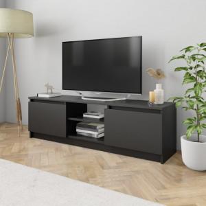 Comoda TV, negru, 120 x 30 x 35,5 cm, PAL - V800568V