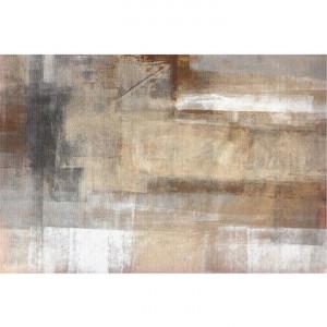 Covor 80x150 cm, maro/gri, ESMARINA TYP 1