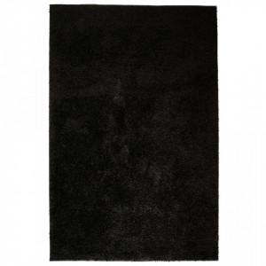 Covor cu fir lung, 140 x 200 cm, negru - V133064V
