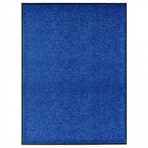 Covoras de usa lavabil, albastru, 90 x 120 cm - V323442V