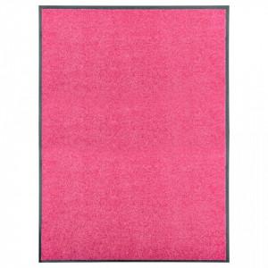Covoras de usa lavabil roz 90x120 cm - V323448V