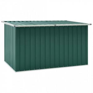 Lada de depozitare pentru gradina, verde, 171 x 99 x 93 cm - V46269V