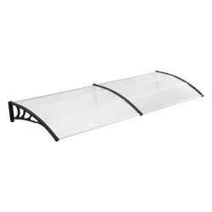 Marchiza copertina ST300, 300 x 100 cm, plastic ABS/policarbon, negru/transparent - P72611228