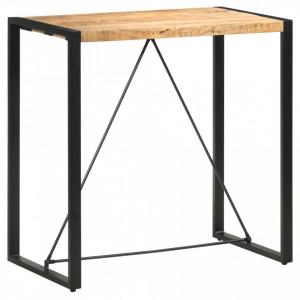 Masa de bar, 110 x 60 x 110 cm, lemn masiv de mango - V285954V