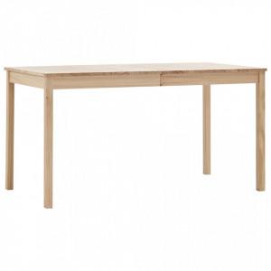 Masa de bucatarie, 140 x 70 x 73 cm, lemn de pin - V283397V