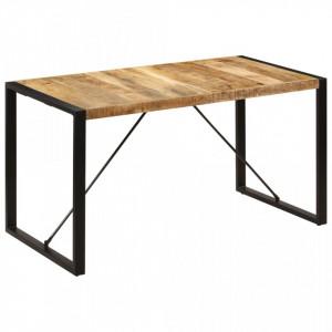 Masa de bucatarie, 140x70x75 cm, lemn masiv de mango - V247420V