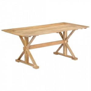 Masa de bucatarie, 180 x 90 x 76 cm, lemn masiv de mango - V247593V