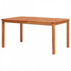 Masa de gradina, 150 x 90 x 74 cm, lemn masiv de acacia - V45962V