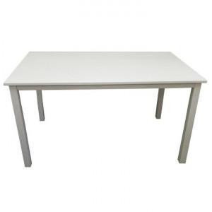 Masă dining, alb, 110 cm, ASTRO NEW