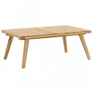 Masuta de cafea de gradina, 90x55x35 cm, lemn masiv acacia - V46675V