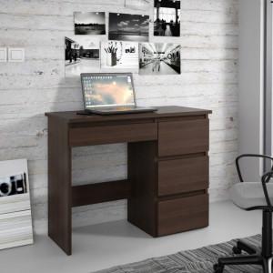 MBBI5 - Birou 94 cm, masa de calculator, office - Alb, Wenge, Sonoma, Stejar
