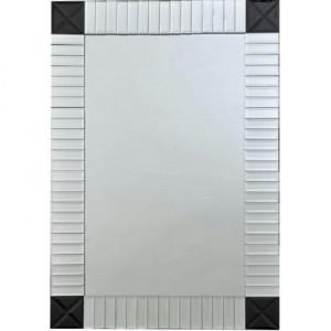 Oglindă, argint/negru, ELISON TYP 3
