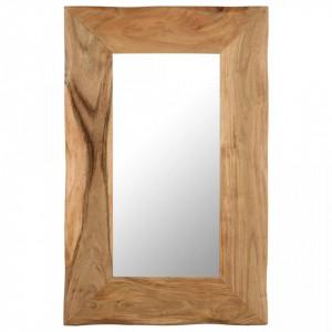 Oglinda cosmetica, 50 x 80 cm, lemn masiv de acacia - V246268V