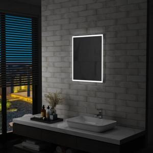 Oglinda cu LED de perete de baie, 50 x 60 cm - V144717V