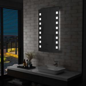 Oglinda cu LED de perete de baie, 60 x 100 cm - V144701V