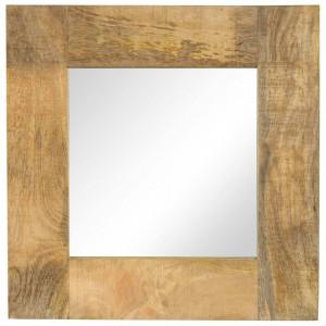 Oglinda, lemn masiv de mango, 50 x 50 cm - V246301V