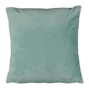 Pernă, material textil de catifea mentă, 60x60, OLAJA TIPUL 10