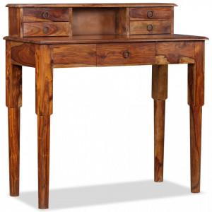 Birou de lucru, 5 sertare, lemn masiv de sheesham, 90x40x90 cm - V244350V