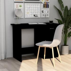 Birou, negru, 100 x 50 x 76 cm, PAL - V801081V