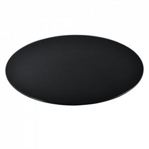 Blat sticla masa AAGB 8706, 800 x 8 mm, ESG sticla securizata, negru - P61988441