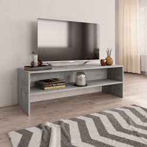 Comoda TV, gri beton, 120 x 40 x 40 cm, PAL - V800040V