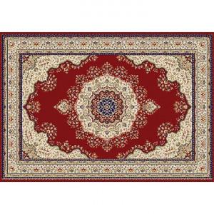 Covor 67x120 cm, vişiniu/amestec de culori/model oriental, KENDRA TYP 3