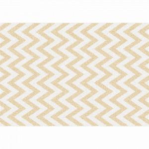 Covor, bej/model alb, 57x90, ADISA TYP 2