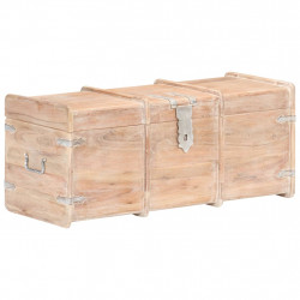 Cufar de depozitare, 90 x 40 x 40 cm, lemn masiv de acacia - V289644V