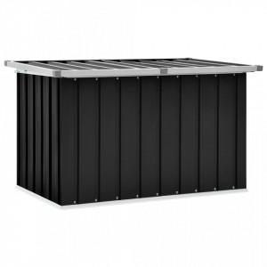 Lada de depozitare pentru gradina, antracit, 109 x 67 x 65 cm - V46259V