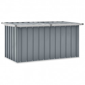 Lada de depozitare pentru gradina, gri, 129 x 67 x 65 cm - V46262V
