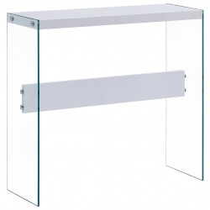Masa consola, alb, 82 x 29 x 75,5 cm, MDF - V247300V