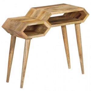 Masa consola, lemn masiv de mango, 90 x 35 x 76 cm - V246059V