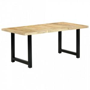 Masa de bucatarie, 180 x 90 x 76 cm, lemn masiv de mango - V283784V