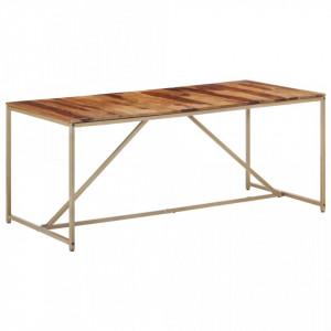 Masa de bucatarie, 180 x 90 x 76 cm, lemn masiv de sheesham - V286335V