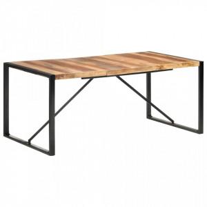 Masa de bucatarie, 180x90x75 cm, lemn masiv cu finisaj sheesham - V321542V