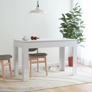 Masa de bucatarie, alb lucios, 120 x 60 x 76 cm, PAL - V800762V