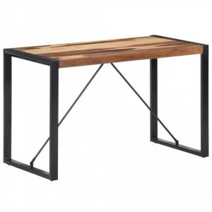 Masa de sufragerie, 120x60x75 cm, lemn masiv finisaj sheesham - V321539V