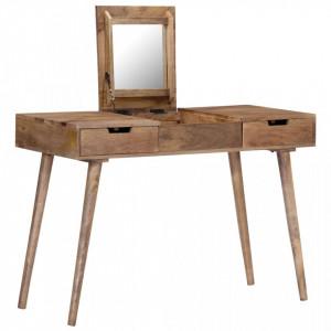 Masa de toaleta, 112x45x76 cm, lemn masiv de mango - V247700V