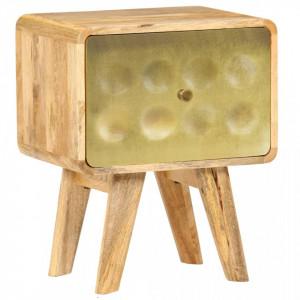 Noptiera, 40 x 30 x 49 cm, lemn masiv de mango - V246343V