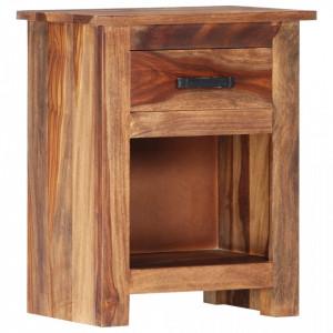 Noptiera, 40x30x50 cm, lemn masiv de sheesham - V247720V