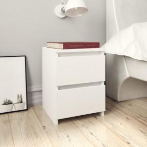 Noptiera, alb, 30 x 30 x 40 cm, PAL - V800513V