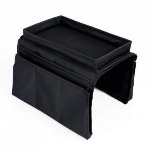 Organizator canapea, negru, IPRES