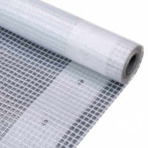 Prelata Leno 260 g/m², alb, 2 x 20 m - V45550V