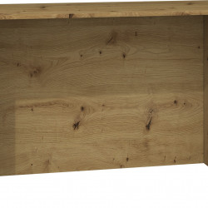 TEBIAR101 - Birou, masa de scris 120 x 60 x 75 cm, Stejar Artisan