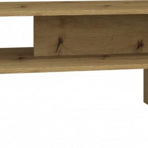 TEMCAR105 - Masuta cafea 60 x 90 x 45 cm - Stejar Artisan
